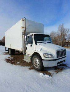 My beloved Freightliner truck